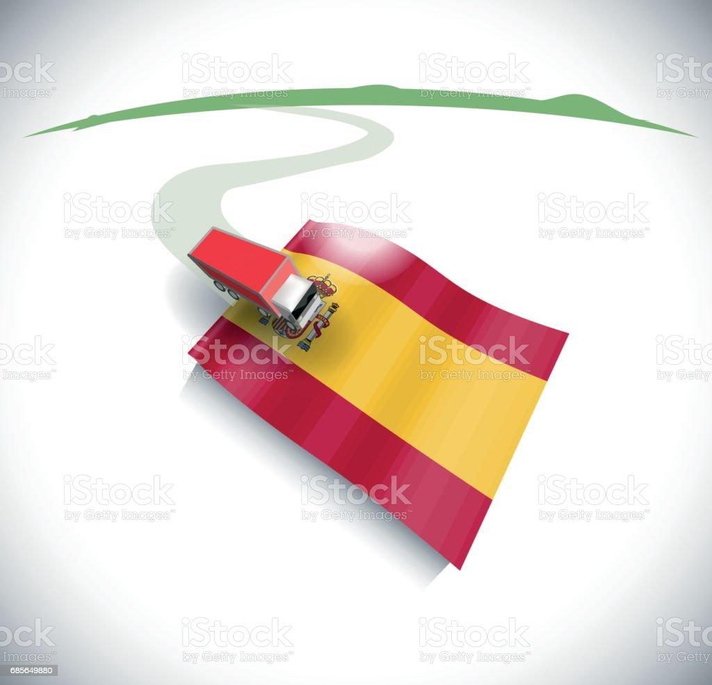 가져오기 및 스페인에 수출 royalty-free 가져오기 및 스페인에 수출 고속도로에 대한 스톡 벡터 아트 및 기타 이미지