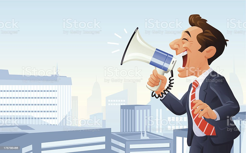Important Announcement royalty-free stock vector art