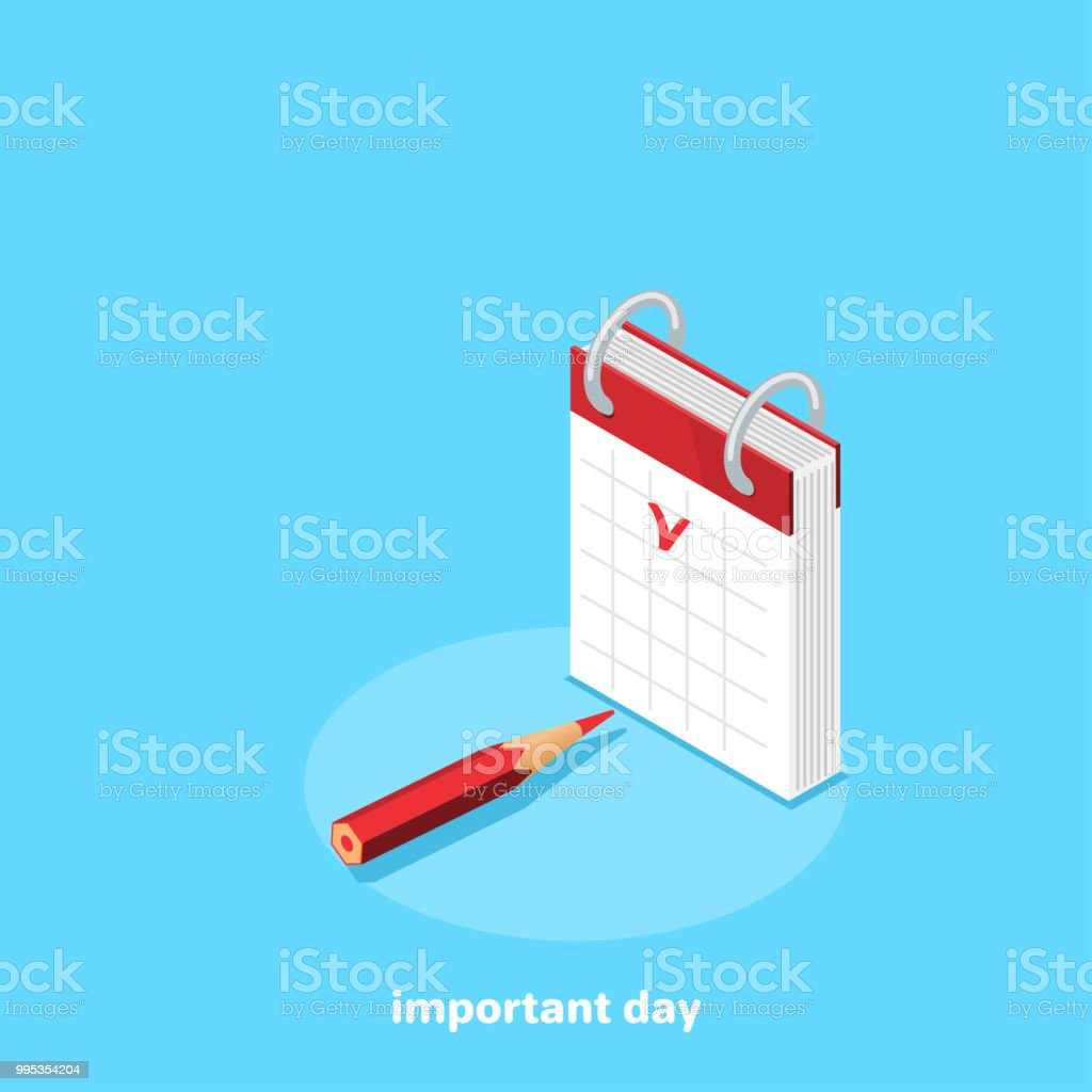 important day vector art illustration