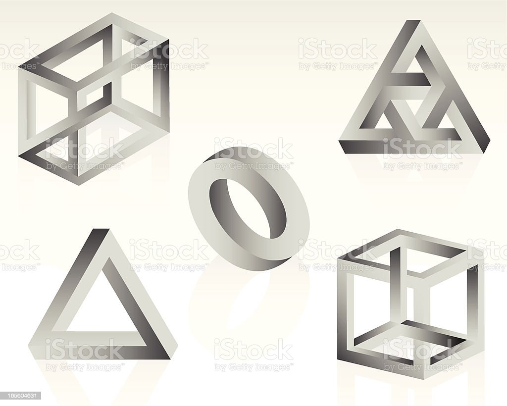 Impossible Objects royalty-free impossible objects stock vector art & more images of bizarre