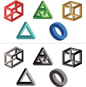 Impossible Objects (Solid Colours)