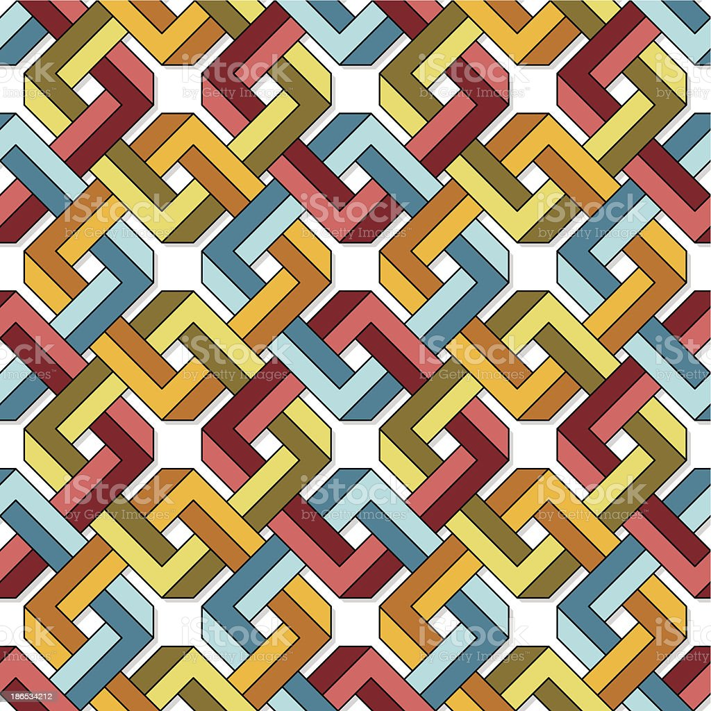 Impossible Pattern royalty-free stock vector art