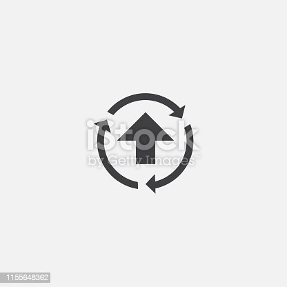 improvement base icon. Simple sign illustration. improvement symbol design. Can be used for web, print and mobile