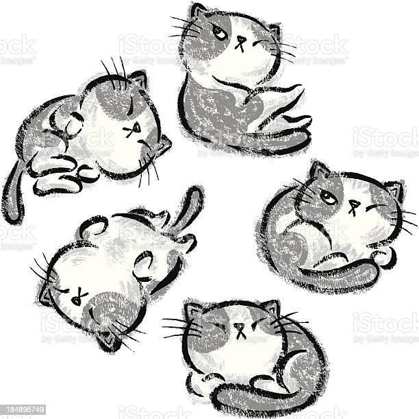 Impudent cats relax vector id184895749?b=1&k=6&m=184895749&s=612x612&h=fc4g5io814ovm sc1 oycqs4ekzc9uaicisad9  sms=
