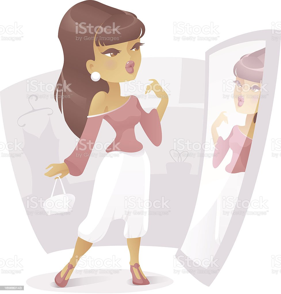 In a Boutique royalty-free in a boutique stock vector art & more images of adult
