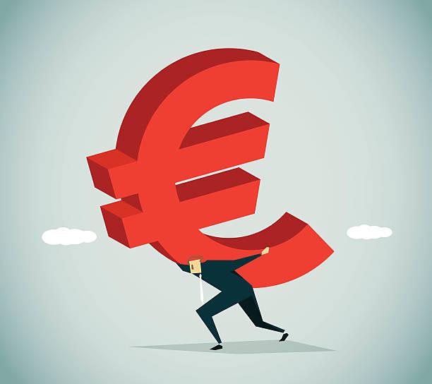 in schulden - geldstrafe stock-grafiken, -clipart, -cartoons und -symbole