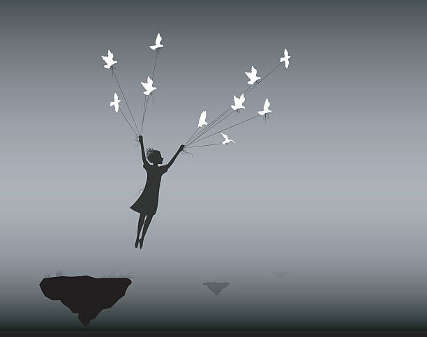 in dream vector art illustration