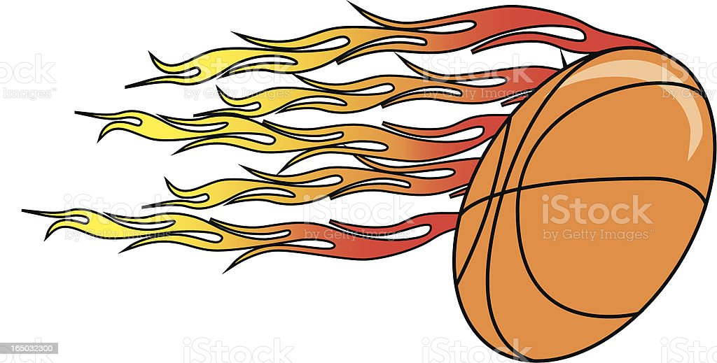 En Fuego royalty-free stock vector art