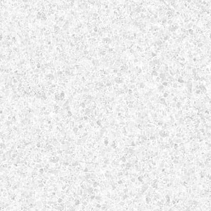 GRANITE STONE in macro - seamless pattern design in shades of light gray - beautiful creative natural background in vector with visible little pebbles texture and rough uniform structure - original stock illustration