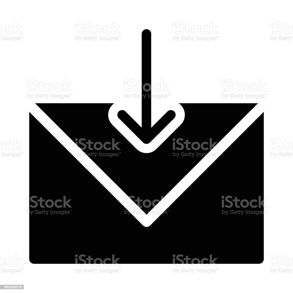 inbox royalty-free inbox stock vector art & more images of backgrounds