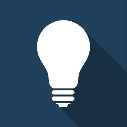 Incandescent Electric  Light bulb - Vector