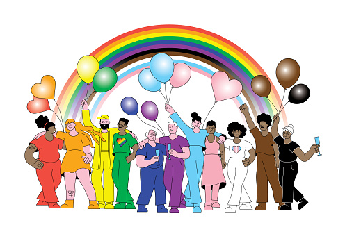 LGBTQIA Inclusive Progress Pride parade