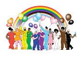 istock LGBTQIA Inclusive Progress Pride parade 1322504062