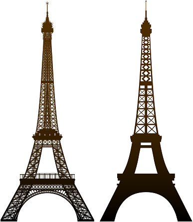 Incredible Detailed Eiffel Towers