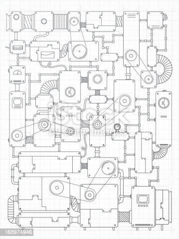 istock Incredible machine project 165974946