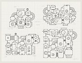 Incredible machine projects on paper