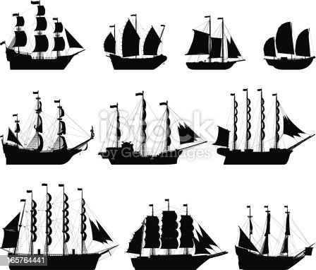 Old ships to a very high level of detail.