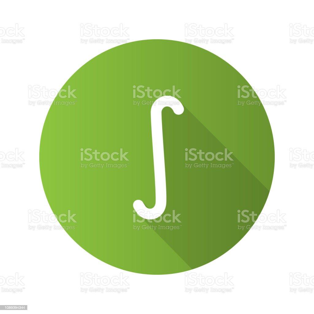 Indefinite integral symbol icon