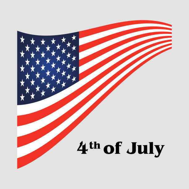independence day 4 th july - memorial day stock illustrations