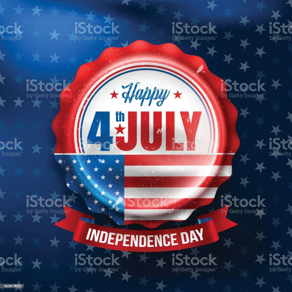 Independence day 4 th july.Happy USA Independence Day 4 th July.Vector illustration vector art illustration