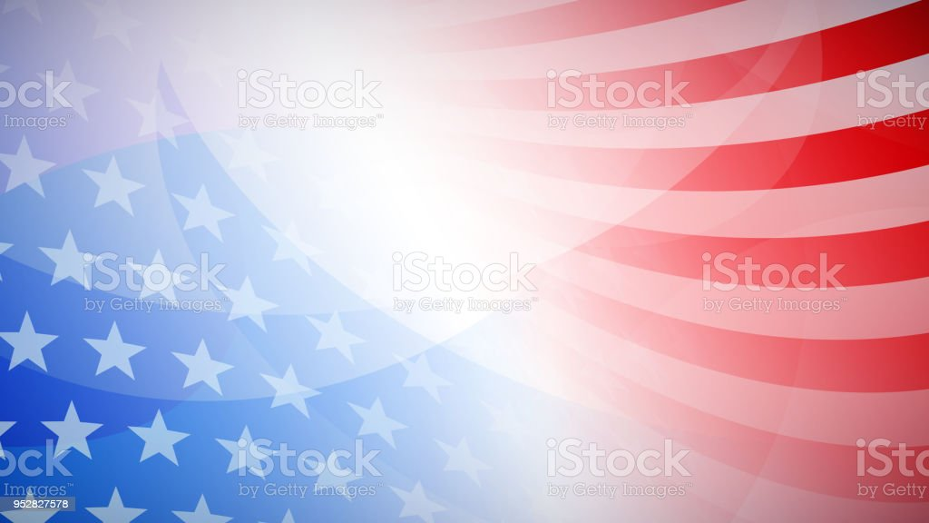 Independence day abstract background Independence day abstract background with elements of the american flag in red and blue colors Abstract stock vector