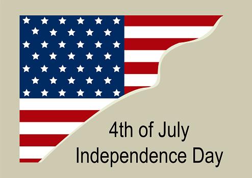 Independence Day Hintergrund Design