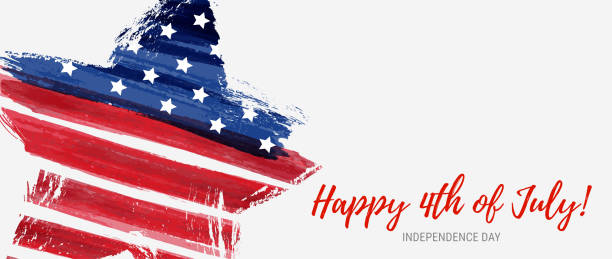 usa independence day holiday - july 4th stock illustrations