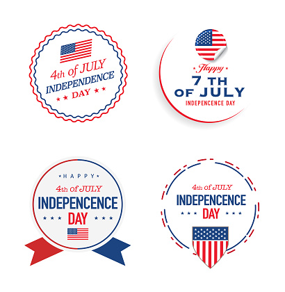 Independence Day Logo and label