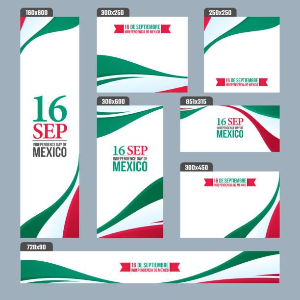 墨西哥獨立日背景。 - 獨立 幅插畫檔、美工圖案、卡通及圖標