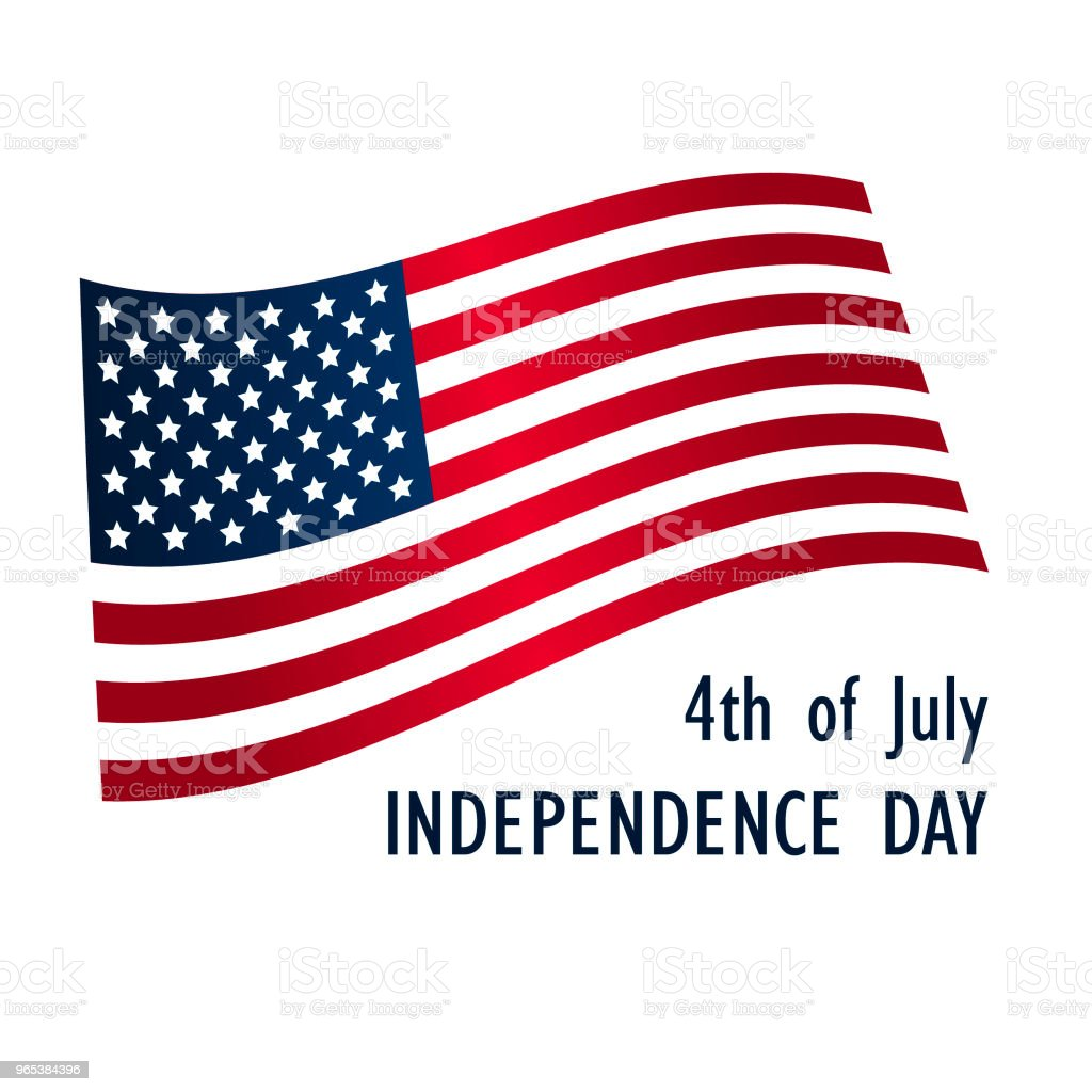 Independence day United States of America. Vector Illustration royalty-free independence day united states of america vector illustration stock vector art & more images of blue