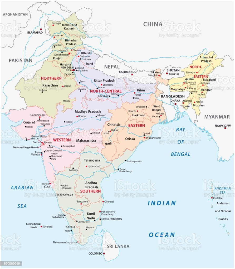 India Administrative And Political Zones Map Stock ... on map of nhava sheva india, map of ahmedabad india, map of budapest india, map of jaffna india, map of bangalore india, map of kabul india, map of delhi india, map of chennai india, map of bay of bengal india, map of cochin india, map of gujarat state india, map of dhaka india, map of kathmandu india, map of qatar india, map of thimphu india, map of asia india, map of kolkata india, map of hyderabad india, map of dubai india, map of bombay india,