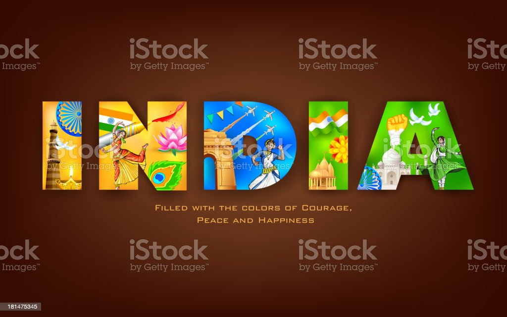 India Background royalty-free india background stock vector art & more images of 25-29 years