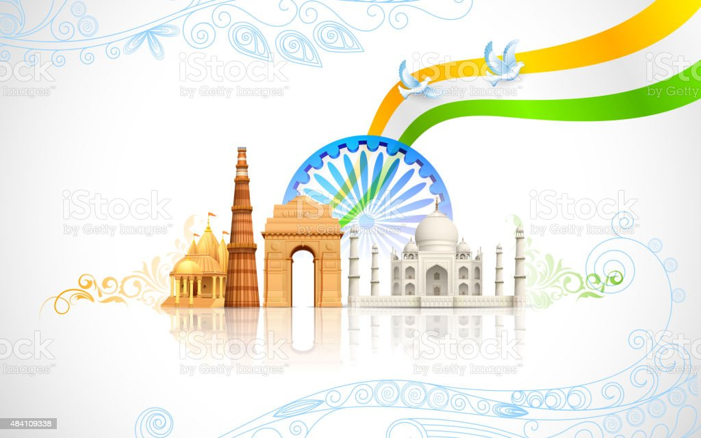 India Background: India Background Stock Vector Art & More Images Of 2015