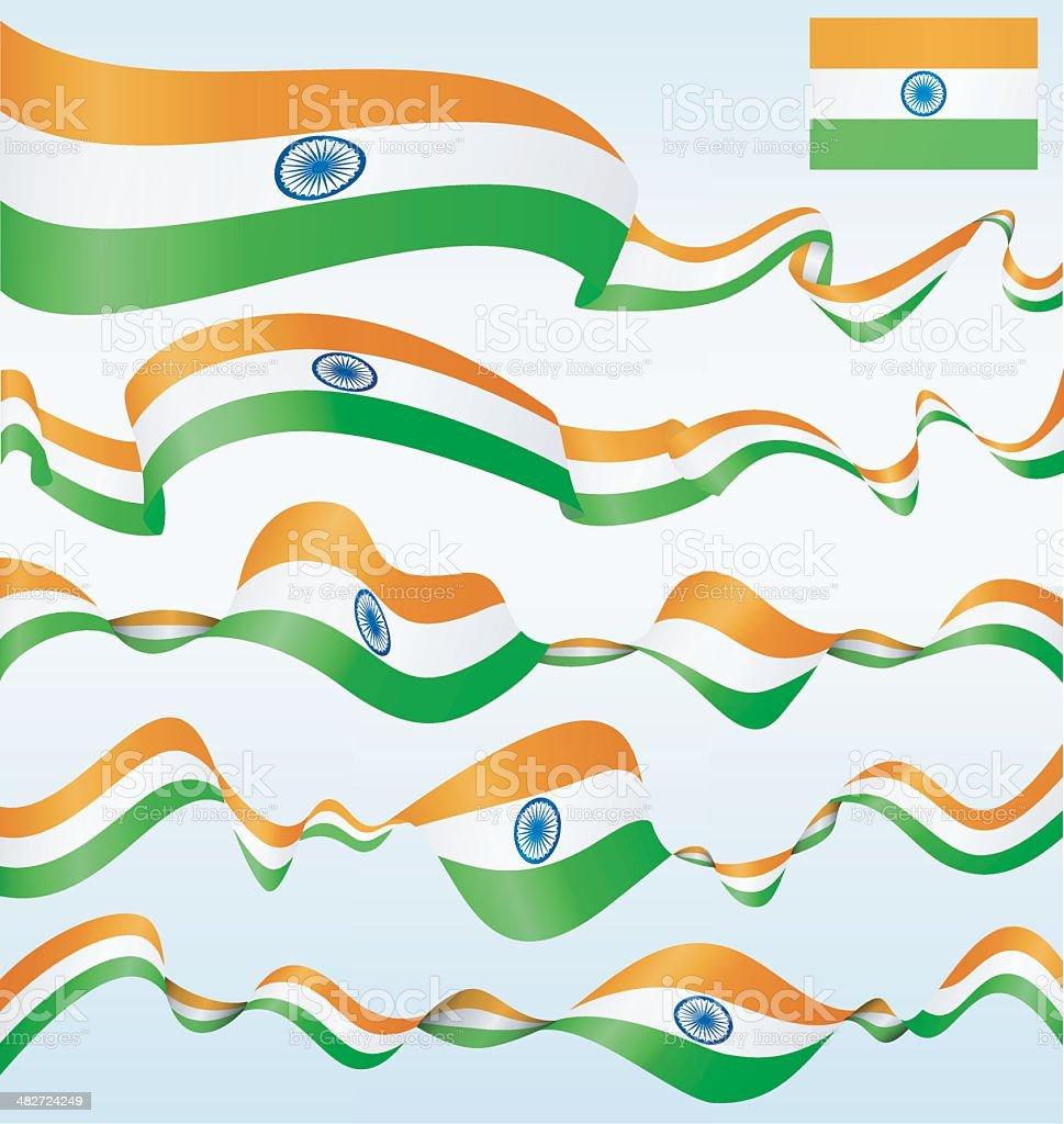 India - banners vector art illustration