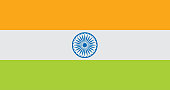 India flag. Official colors and proportion correctly. India flag vector. India flag vector. Indian background. Indian banner vector. Indian background vector. Indian banner.