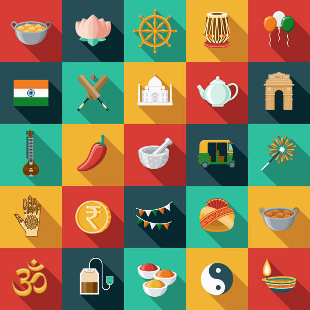Indian Food Illustrations, Royalty-Free Vector Graphics ...