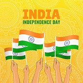 Vector Illustration on the theme Independence Day of India.