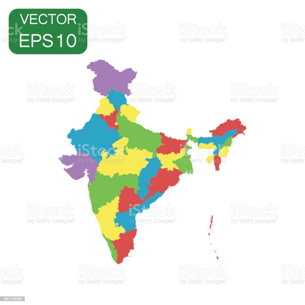 India map icon business cartography concept india pictogram vector india map icon business cartography concept india pictogram vector illustration on white background gumiabroncs Choice Image
