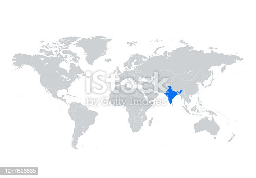 istock India map 1277826635