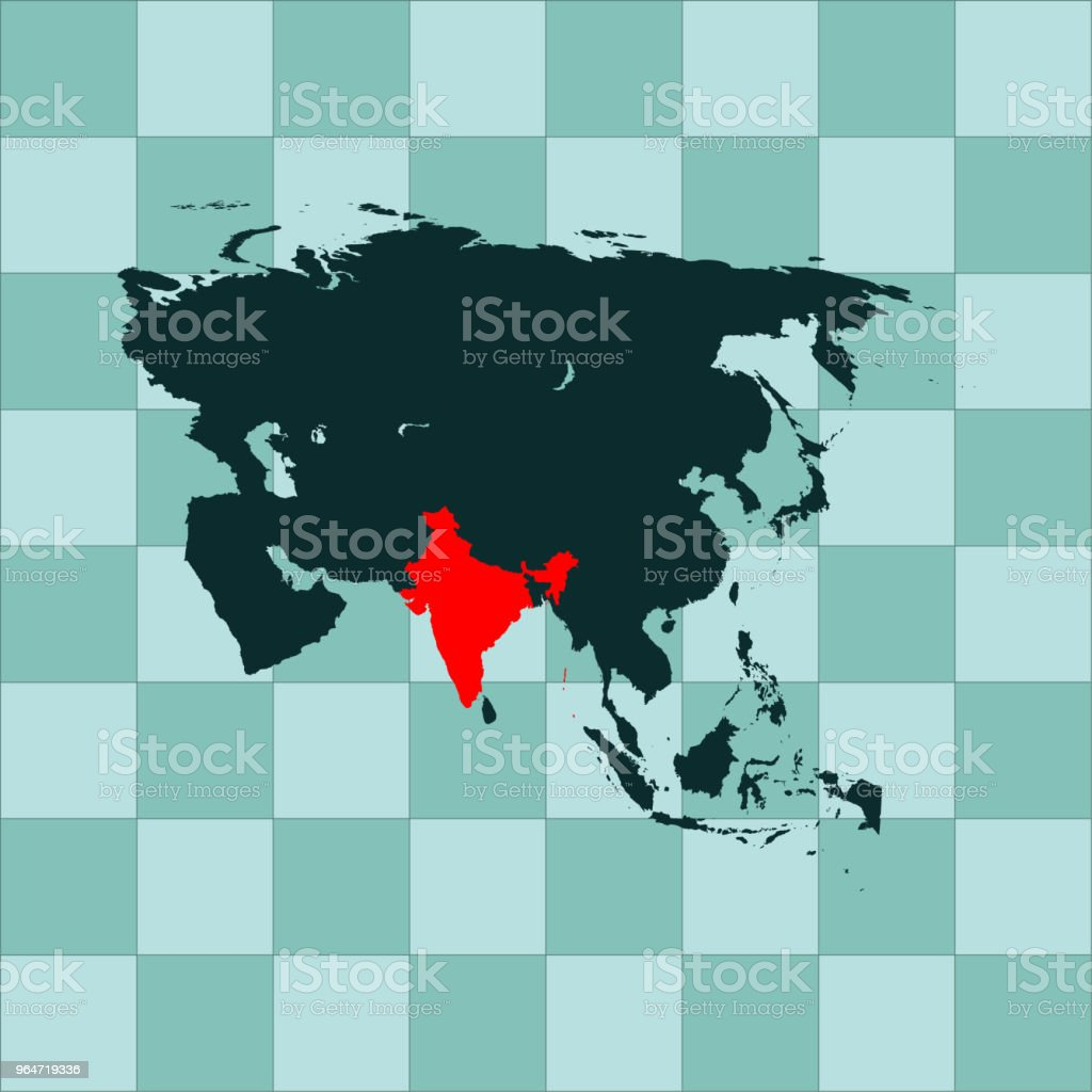 India map royalty-free india map stock vector art & more images of asia