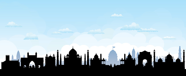 India Skyline (All Buildings Are Complete, Detailed and Moveable)