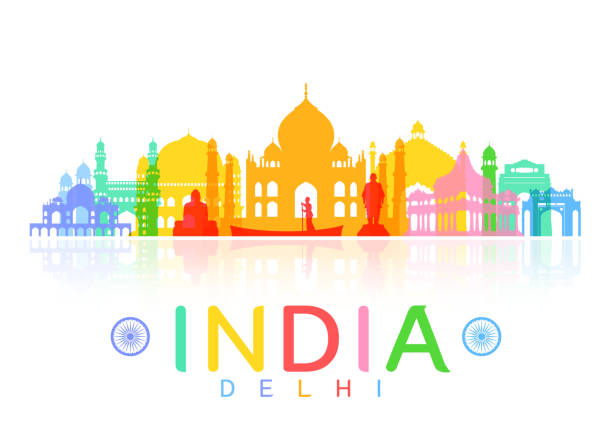 Indian City Landmark Cultural Tourism To Promote Its Vector, City Vector,  Landmark Building, Culture PNG Transparent Clipart Image and PSD File for  Free Downloa… | India poster, India art, India painting