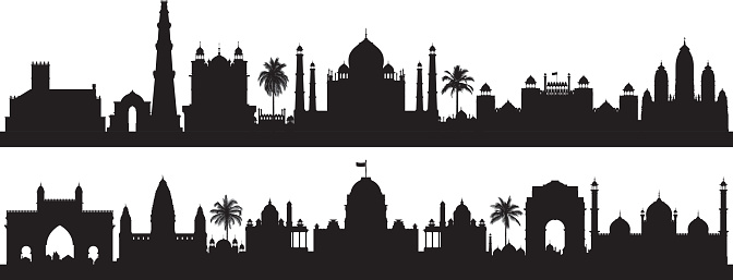 India (Buildings are Detailed, Complete and Moveable)