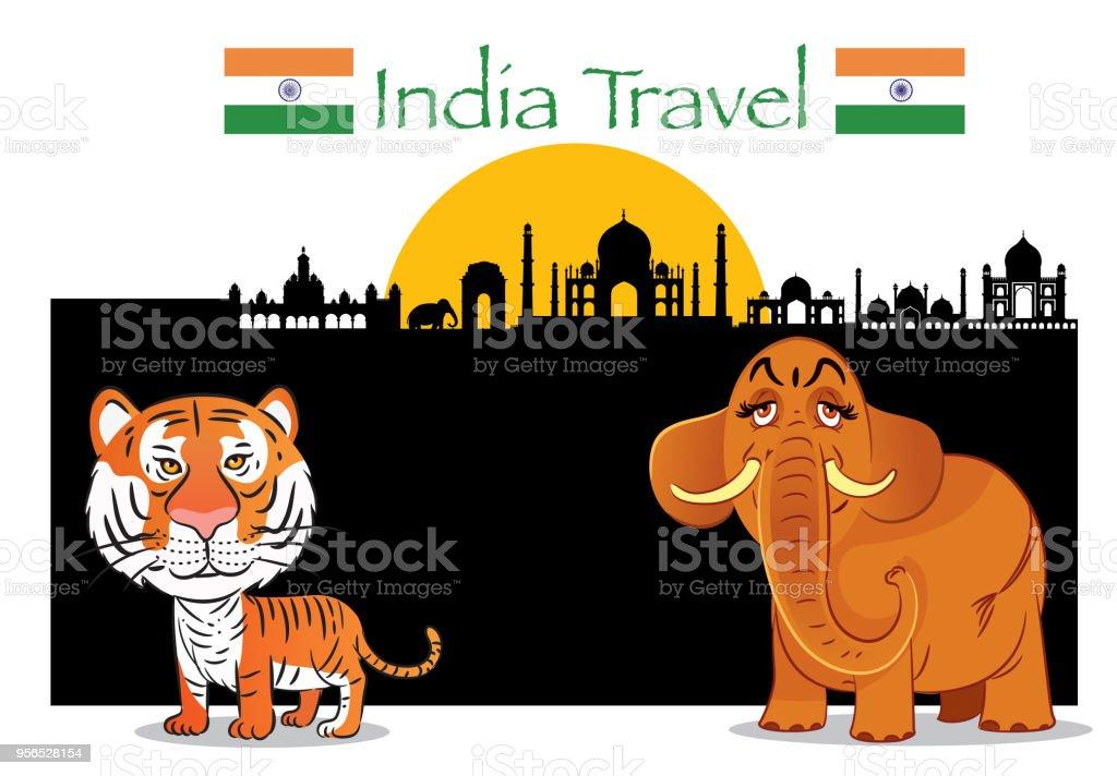 Indien  - Lizenzfrei Agra Vektorgrafik