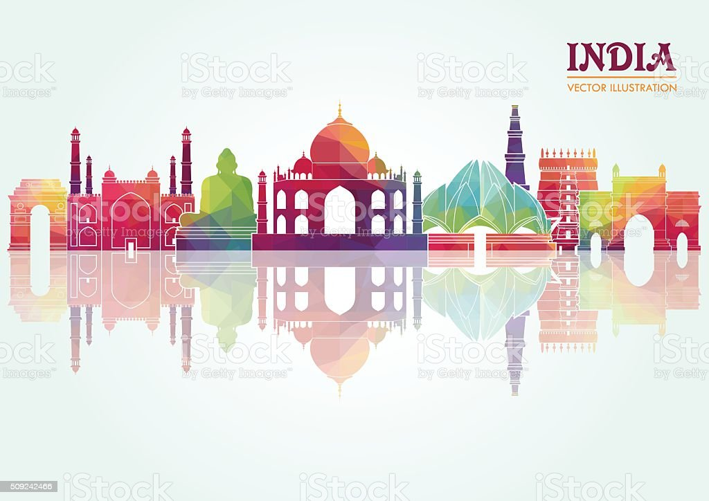 India. Vector illustration vector art illustration
