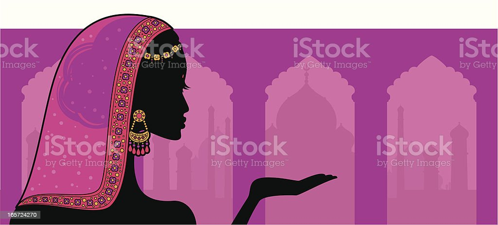 Indian Beauty royalty-free indian beauty stock vector art & more images of adult