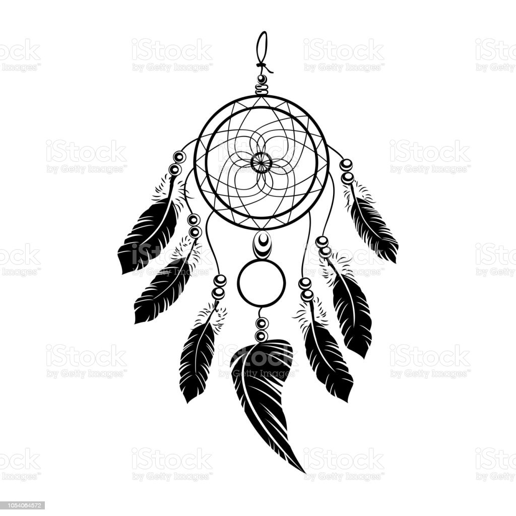 Background for dreamcatcher tattoo