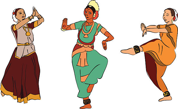 Folk clipart indian dance form #3   Dance of india, Indian dance, Indian  classical dance