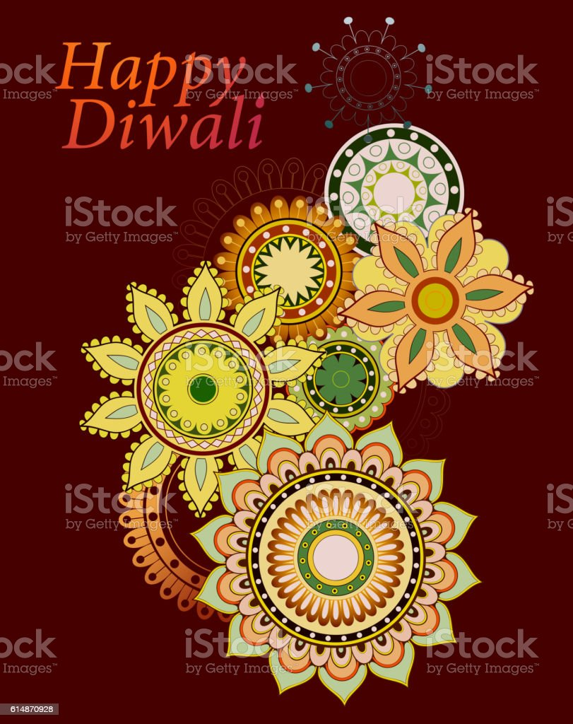 Indian festival diwali greeting card design stock vector art more indian festival diwali greeting card design royalty free indian festival diwali greeting card design stock m4hsunfo