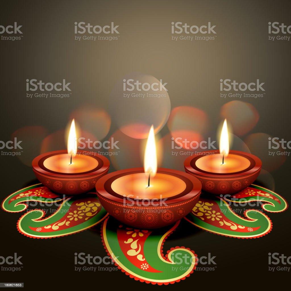 indian festival diwali royalty-free stock vector art